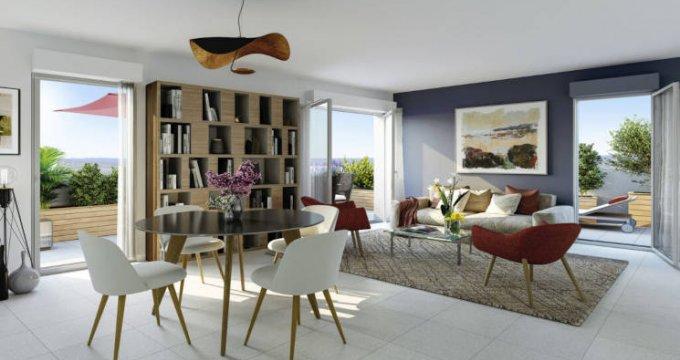 Achat / Vente appartement neuf Bron à 300m du tramway Hôtel de Ville (69500) - Réf. 5593