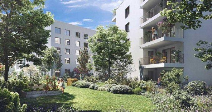Achat / Vente appartement neuf Bron quartier le Champ des Possibles (69500) - Réf. 4979