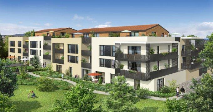 Achat / Vente appartement neuf Chaponost à 10 du parc du Boulard (69630) - Réf. 3885