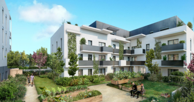 Achat / Vente appartement neuf Chassieu proche des commodités (69680) - Réf. 5283