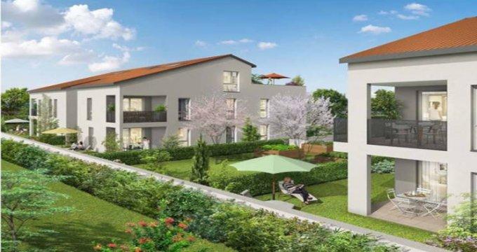 Achat / Vente appartement neuf Corbas proche gare Saint-Priest (69960) - Réf. 3497