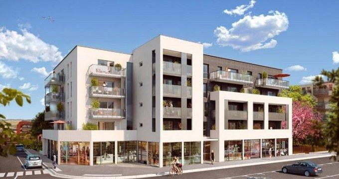 Achat / Vente appartement neuf Décines-Charpieu Place Roger Salengro (69150) - Réf. 1364