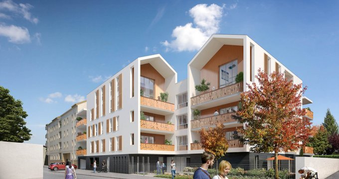 Achat / Vente appartement neuf Décines-Charpieu proche parc Miribel Jonage (69150) - Réf. 821