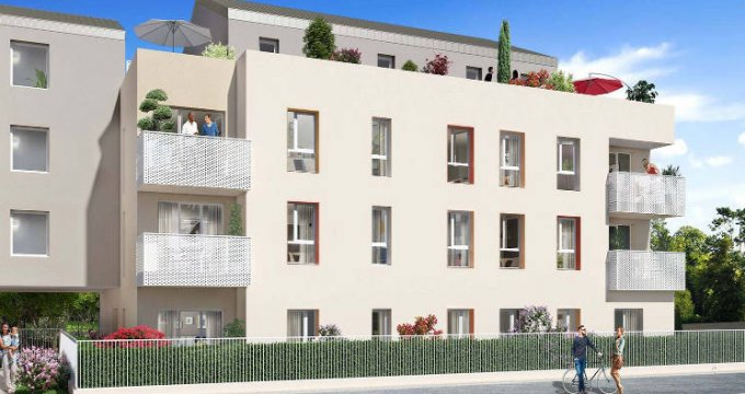 Achat / Vente appartement neuf Gringny au sud de Lyon (69520) - Réf. 3403