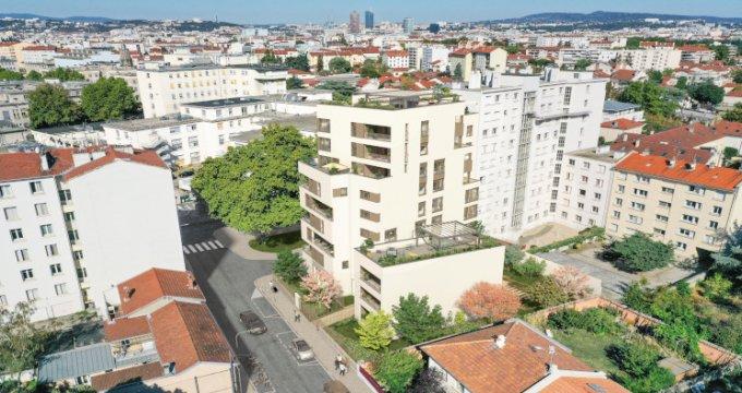 Achat / Vente appartement neuf Lyon 03 proche métro Grange Blanche (69003) - Réf. 5431