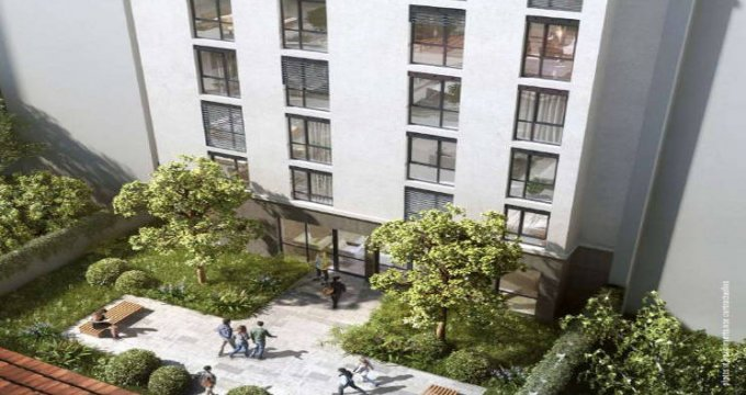 Achat / Vente appartement neuf Lyon 07 résidence étudiante – quartier Saint-Louis (69007) - Réf. 5311