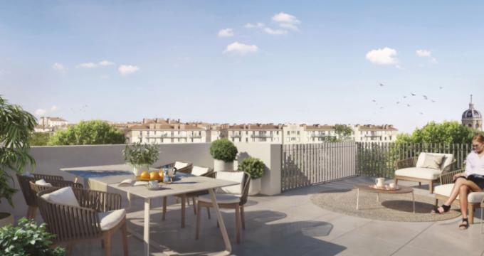 Achat / Vente appartement neuf Lyon 1 au coeur du quartier de la Croix Rousse (69001) - Réf. 5391