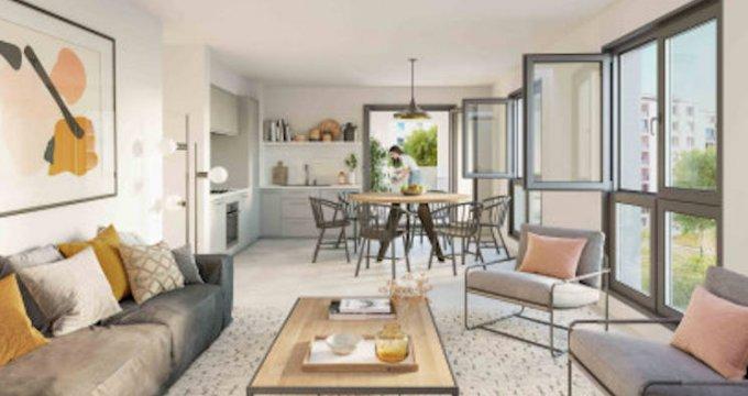 Achat / Vente appartement neuf Lyon 7 au coeur du quartier de Gerland (69007) - Réf. 5245