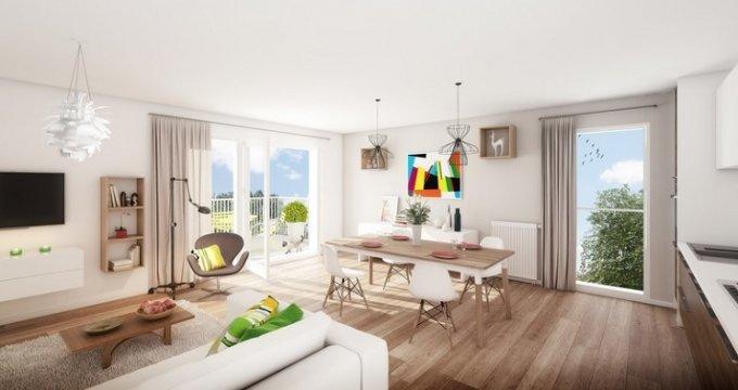 Achat / Vente appartement neuf Lyon 8 proche Mermoz Pinel (69008) - Réf. 4126