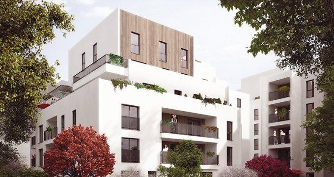 Achat / Vente appartement neuf Lyon 8e proche parc du Clos Layat (69008) - Réf. 319
