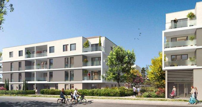Achat / Vente appartement neuf Meyzieu centre-ville (69330) - Réf. 2067
