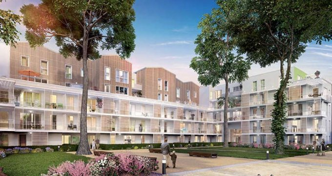 Achat / Vente appartement neuf Meyzieu proche du tramway T3 (69330) - Réf. 1821