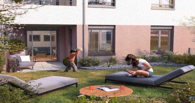 Achat / Vente appartement neuf Neuville-sur-Saône proche du coeur de village (69250) - Réf. 5882