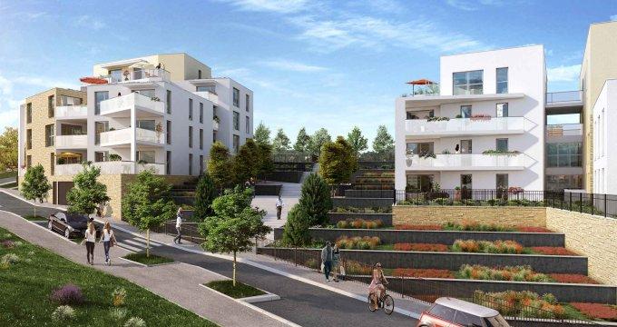 Achat / Vente appartement neuf Saint-Didier-au-Mont-d'Or face au parc du collège Fromente (69370) - Réf. 1942