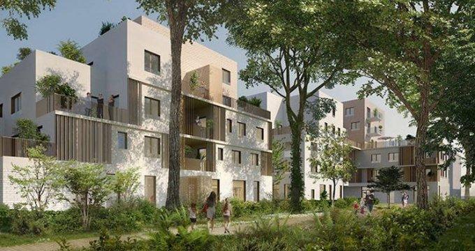 Achat / Vente appartement neuf Saint-Priest à 240 mètres du tramway T2 (69800) - Réf. 3855
