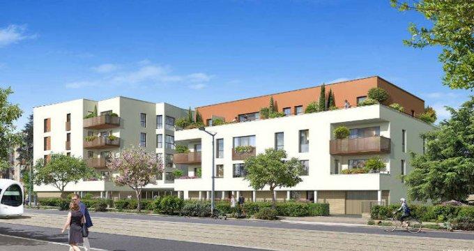Achat / Vente appartement neuf Saint-Priest à 3 min à pied du tramway T2 (69800) - Réf. 5497