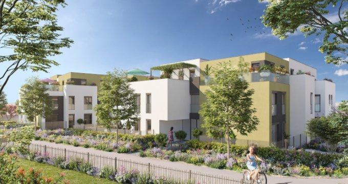 Achat / Vente appartement neuf Sainte-Foy-lès-Lyon au cœur du quartier Saint-Loup (69110) - Réf. 5272
