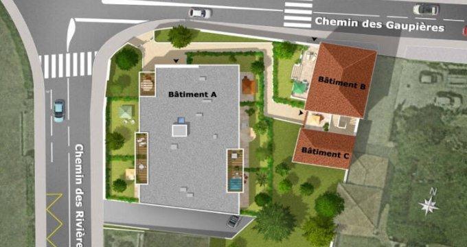 Achat / Vente appartement neuf Vernaison à proximité du bus (69390) - Réf. 4838
