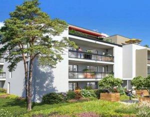 Achat / Vente appartement neuf Caluire-et-Cuire à 15 min du centre-ville lyonnais (69300) - Réf. 4943