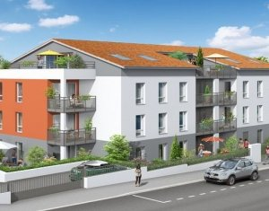 Achat / Vente appartement neuf Craponne à 500 mètres de la place Marie-Andrée Perrin (69290) - Réf. 1041