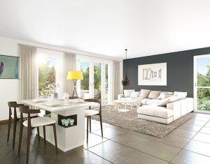 Achat / Vente appartement neuf Décines-Charpieu au coeur de ville (69150) - Réf. 4608
