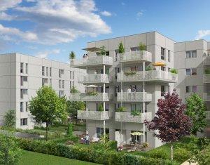 Achat / Vente appartement neuf Décines en face de la place François Mitterrand (69150) - Réf. 2228