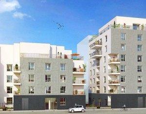 Achat / Vente appartement neuf Lyon 8 proche avenue Berthelot (69008) - Réf. 1805