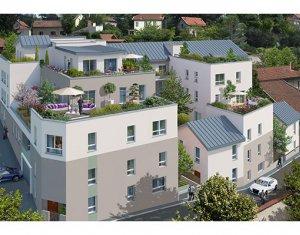 Achat / Vente appartement neuf Rillieux-la-Pape sur la colline de Crépieux (69140) - Réf. 572