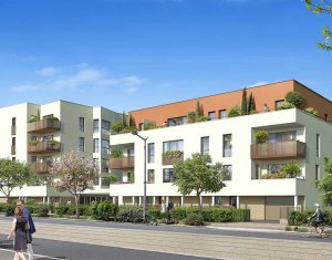 Achat / Vente appartement neuf Saint-Priest à 3 min à pied du tramway T2 (69800) - Réf. 6332