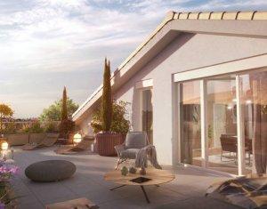 Achat / Vente appartement neuf Saint-Priest au cœur du quartier du village (69800) - Réf. 5861