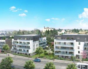 Achat / Vente appartement neuf Saint-Priest proche complexe nautique Jacques Coeur (69800) - Réf. 2943
