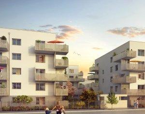 Achat / Vente appartement neuf Vaulx-en-Velin proche de Lyon (69120) - Réf. 2239