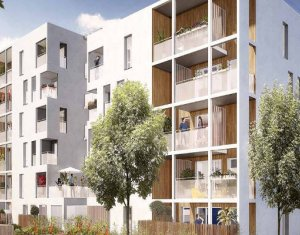Achat / Vente appartement neuf Vaulx-en-Velin quartier Carré de Soie (69120) - Réf. 2991