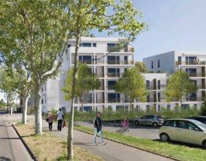 Achat / Vente appartement neuf Vaulx-en-Velin secteur Carré de Soie (69120) - Réf. 4813