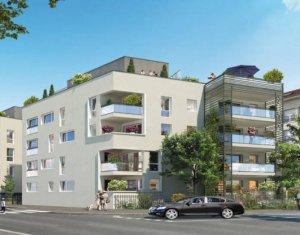 Achat / Vente appartement neuf Vénissieux proche ligne tramway T4 (69200) - Réf. 4937