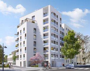 Achat / Vente appartement neuf Villeurbanne secteur Croix-Luizet proche La Doua (69100) - Réf. 6327