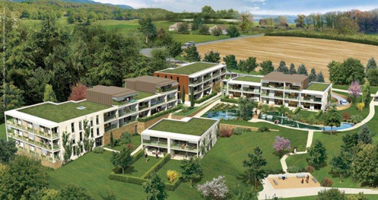 Achat / Vente appartement neuf Albigny-sur-Saône 12 minutes de Lyon (69250) - Réf. 450