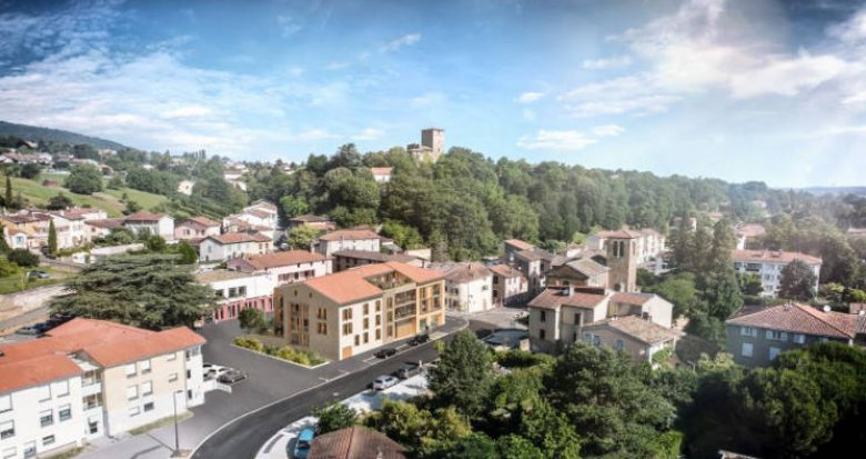 Achat / Vente appartement neuf Albigny-sur-Saône en plein cœur de ville (69250) - Réf. 5354