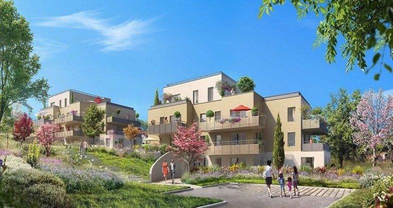 Achat / Vente appartement neuf Albigny-sur-Saône proche du cœur de village (69250) - Réf. 1290