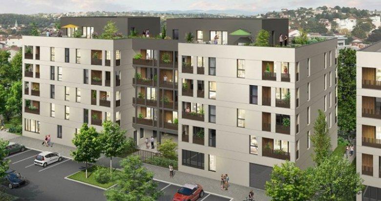 Achat / Vente appartement neuf Brignais à côté de la Gare (69530) - Réf. 1314