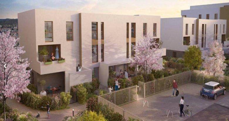 Achat / Vente appartement neuf Brignais proche coeur de ville (69530) - Réf. 2765