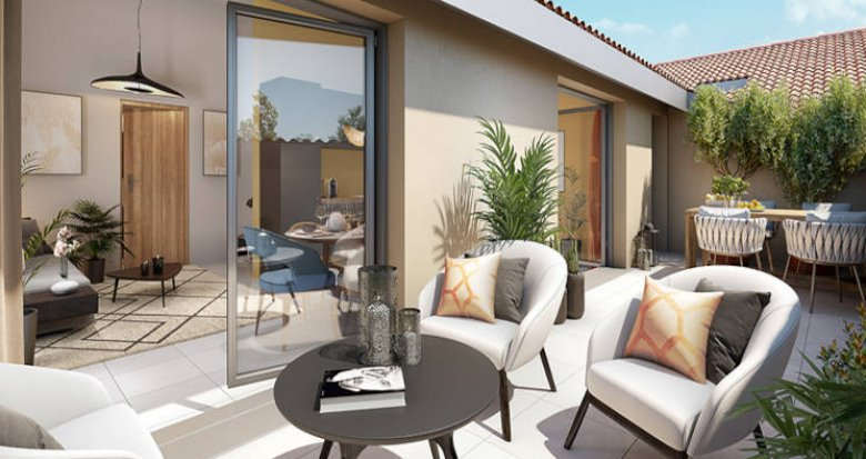 Achat / Vente appartement neuf Bron centre proche tramway (69500) - Réf. 5785