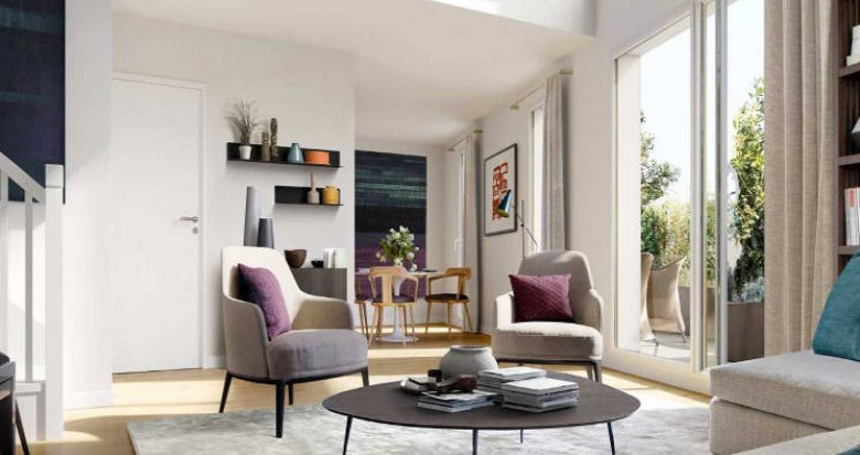 Achat / Vente appartement neuf Bron nouveau quartier Champ des Possibles (69500) - Réf. 4990