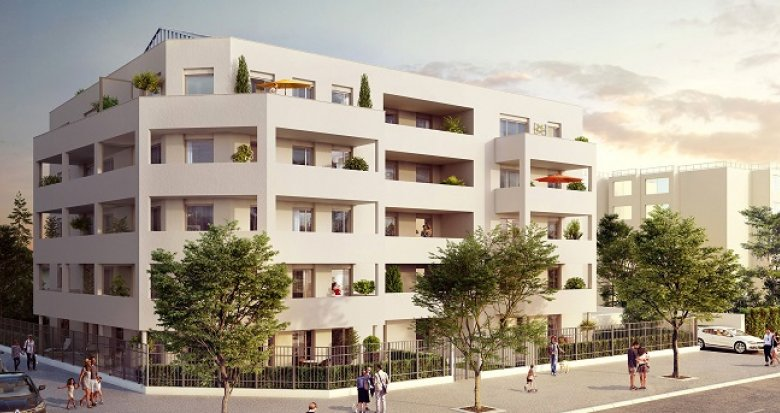 Achat / Vente appartement neuf Bron proche place Jean Moulin (69500) - Réf. 2590