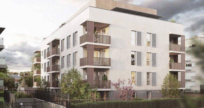 Achat / Vente appartement neuf Bron quartier Terraillon proche T5 (69500) - Réf. 6258