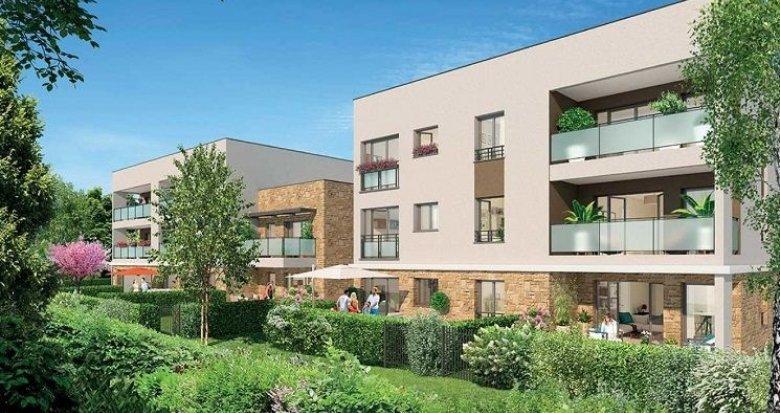 Achat / Vente appartement neuf Champagne-au-Mont-d'Or à 10 minutes de Lyon ambiance village (69410) - Réf. 757