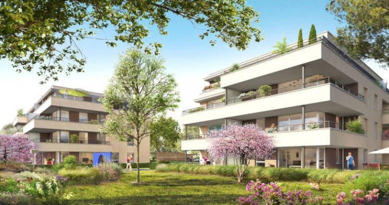 Achat / Vente appartement neuf Champagne-au-Mont-d'Or proche hypercentre (69410) - Réf. 4521