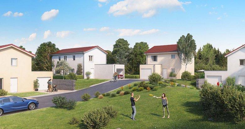 Achat / Vente appartement neuf Chaponnay proche de Lyon (69970) - Réf. 2552