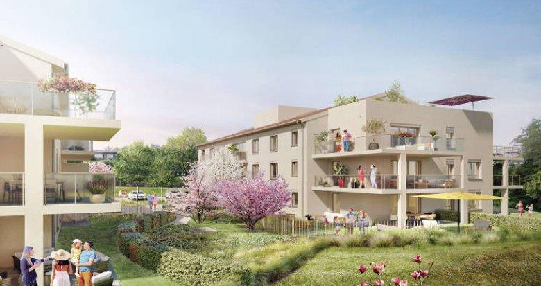 Achat / Vente appartement neuf Charbonnières-les-Bains en coeur de ville (69260) - Réf. 5105