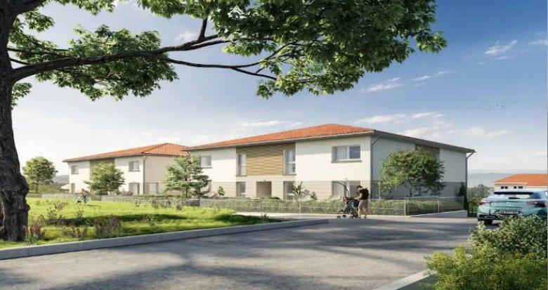 Achat / Vente appartement neuf Chassagny au coeur du village (69700) - Réf. 4410